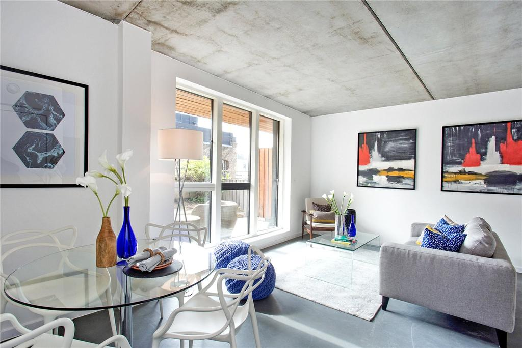4 Bedrooms Flat for sale in Cosmopolitan House, 8 Christina Street, Shoreditch, London, EC2A