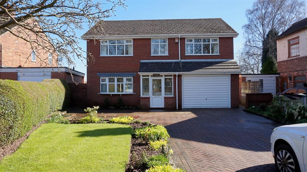 4 Bedrooms Detached House for sale in Parkside, Madeley, Crewe
