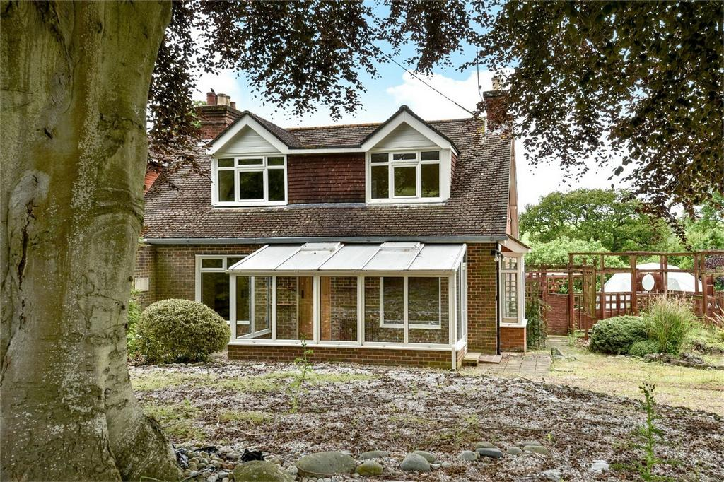 4 Bedrooms Semi Detached House for sale in Kings Somborne, Stockbridge, Hampshire