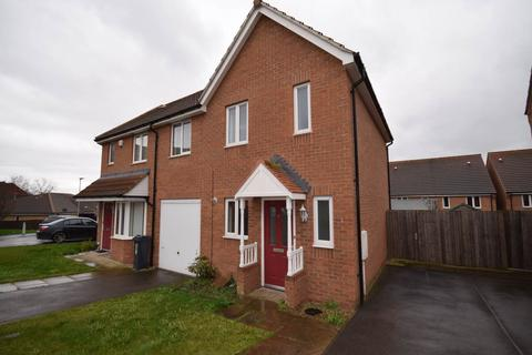 2 bedroom semi-detached house to rent - Newbiggin Place, Beaumont Leys, Leicester