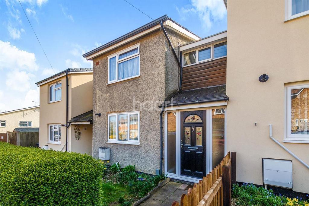 2 Bedrooms Terraced House for sale in The Paddocks, Shephall, Stevenage