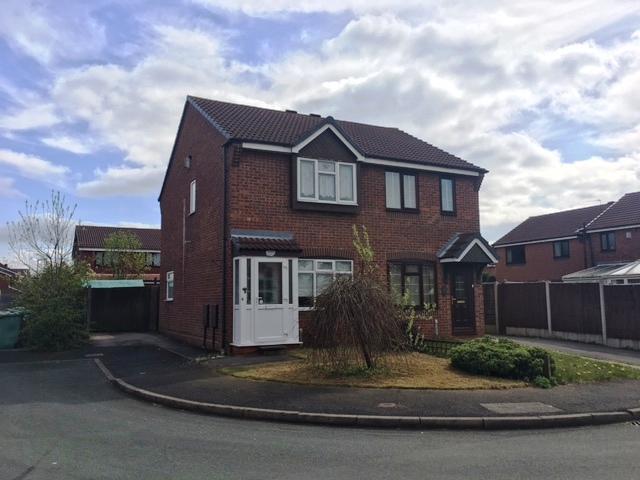 2 Bedrooms Semi Detached House for rent in Patriot Close, Bescot, Walsall WS1