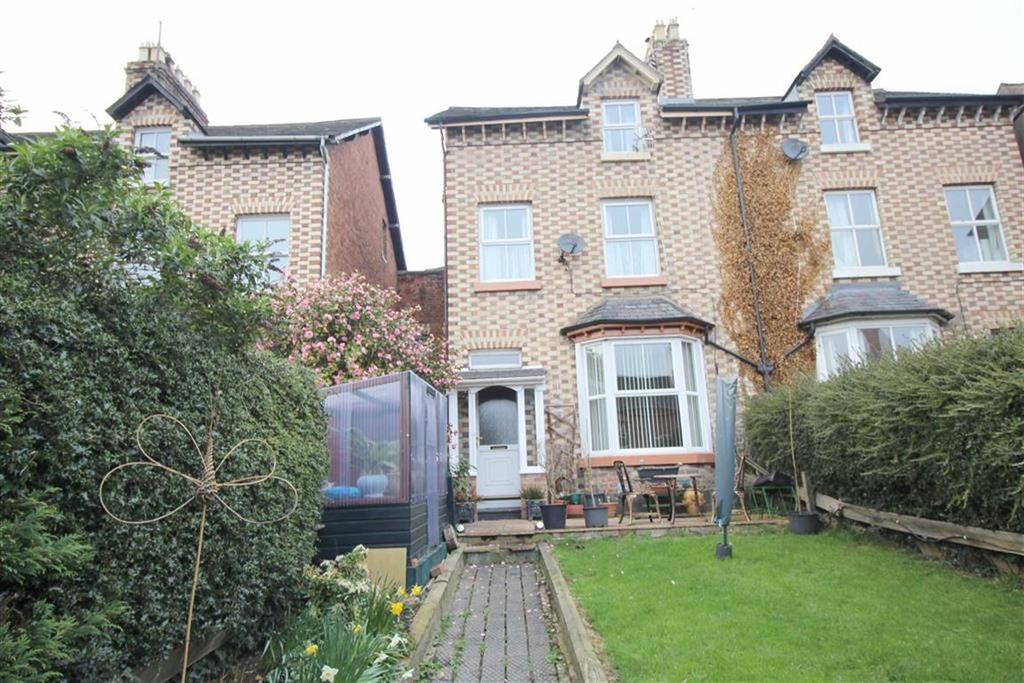 4 Bedrooms Semi Detached House for sale in 17, Salop Road, Welshpool, Powys, SY21