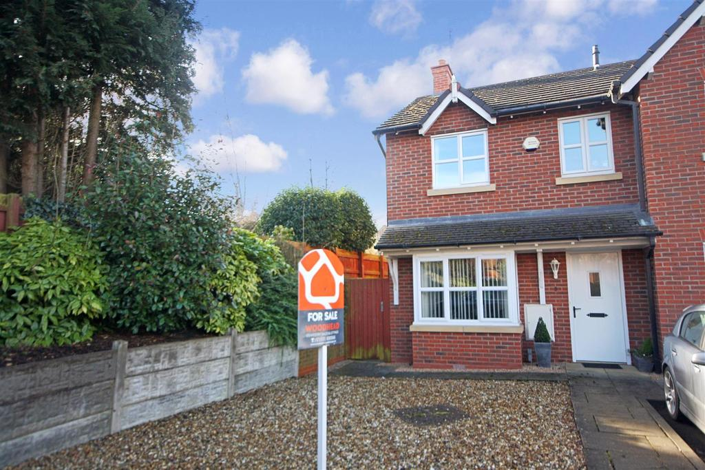 3 Bedrooms Semi Detached House for sale in Trinity Close, Gobowen, Oswestry