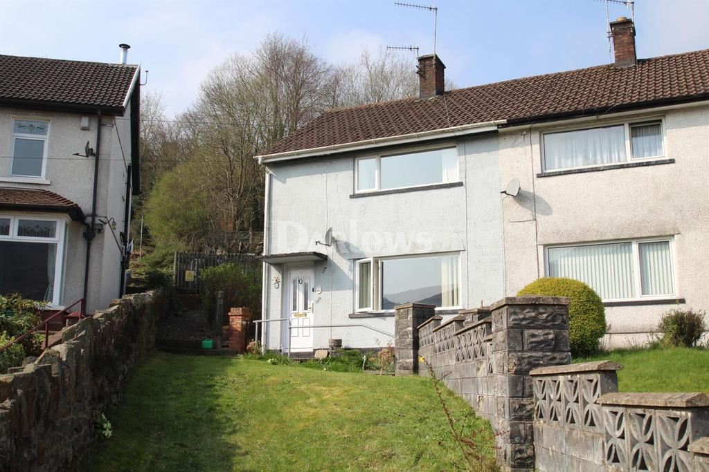 2 Bedrooms Semi Detached House for sale in Bronheulog Terrace Troedyrhiw