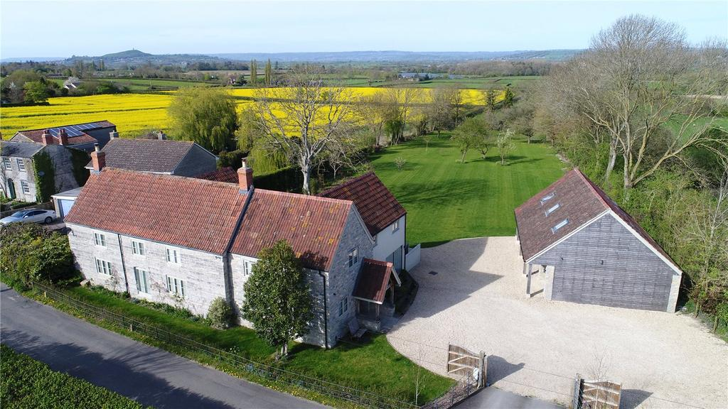 5 Bedrooms House for sale in Barton Road, Butleigh, Glastonbury, Somerset, BA6