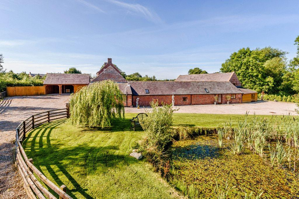 5 Bedrooms Detached House for sale in Middleton, Oswestry, Shropshire