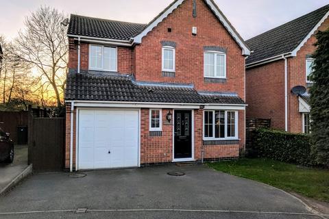 4 bedroom detached house for sale - Cadeby Close, Hinckley