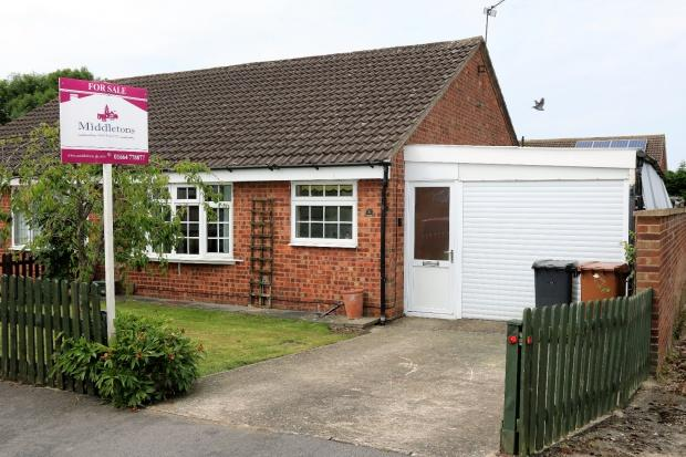 2 Bedrooms Bungalow for sale in Swift Close, Melton Mowbray, LE13