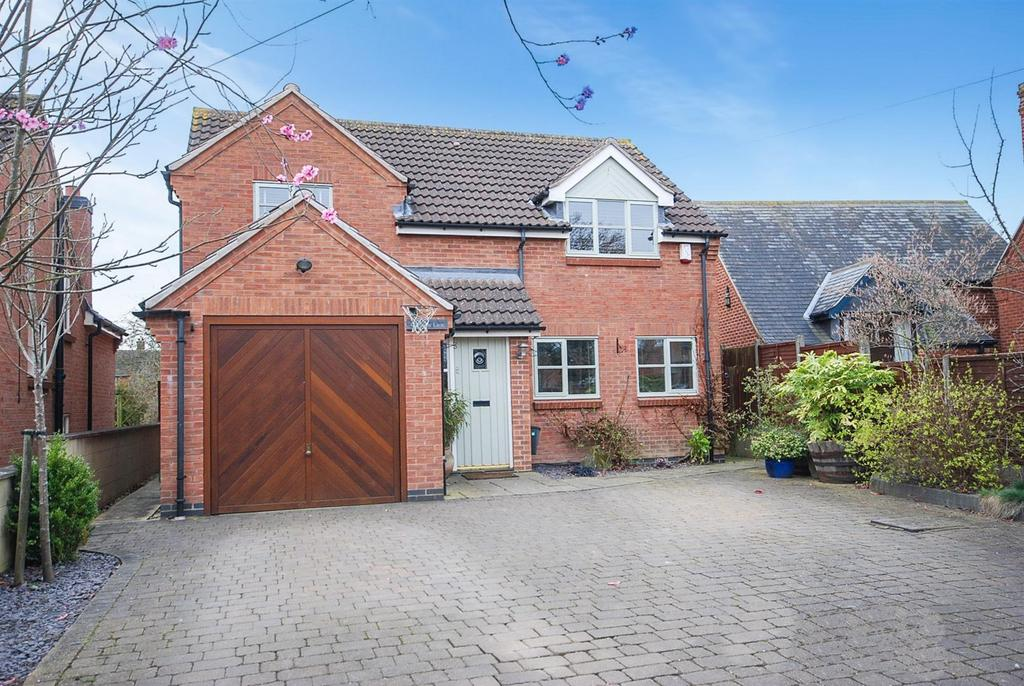 4 Bedrooms Detached House for sale in Middle Lane, Nether Broughton