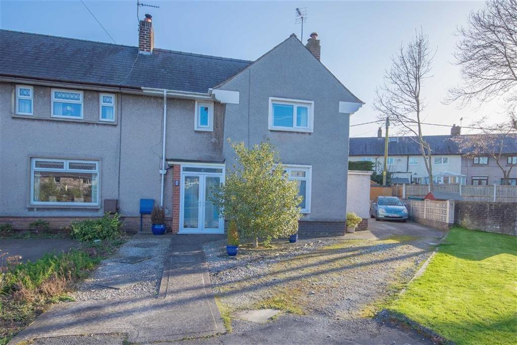 3 Bedrooms End Of Terrace House for sale in Ffordd Gwynedd, Northop, Mold