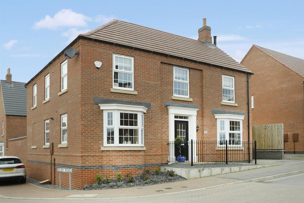 4 Bedrooms Detached House for sale in Longbreach Road, Kibworth Harcourt, Leicester