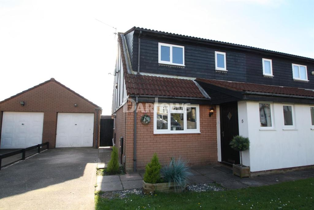 4 Bedrooms Semi Detached House for sale in Amberwood Close, Pontprennau, Cardiff