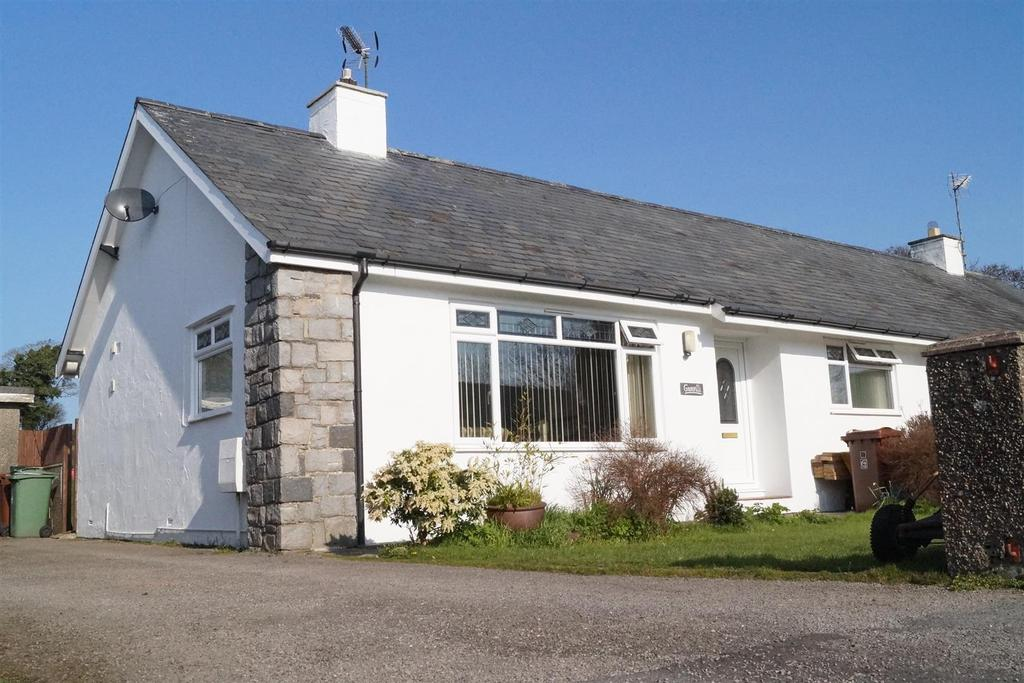 3 Bedrooms Semi Detached House for sale in Glanerch, Abererch, Pwllheli