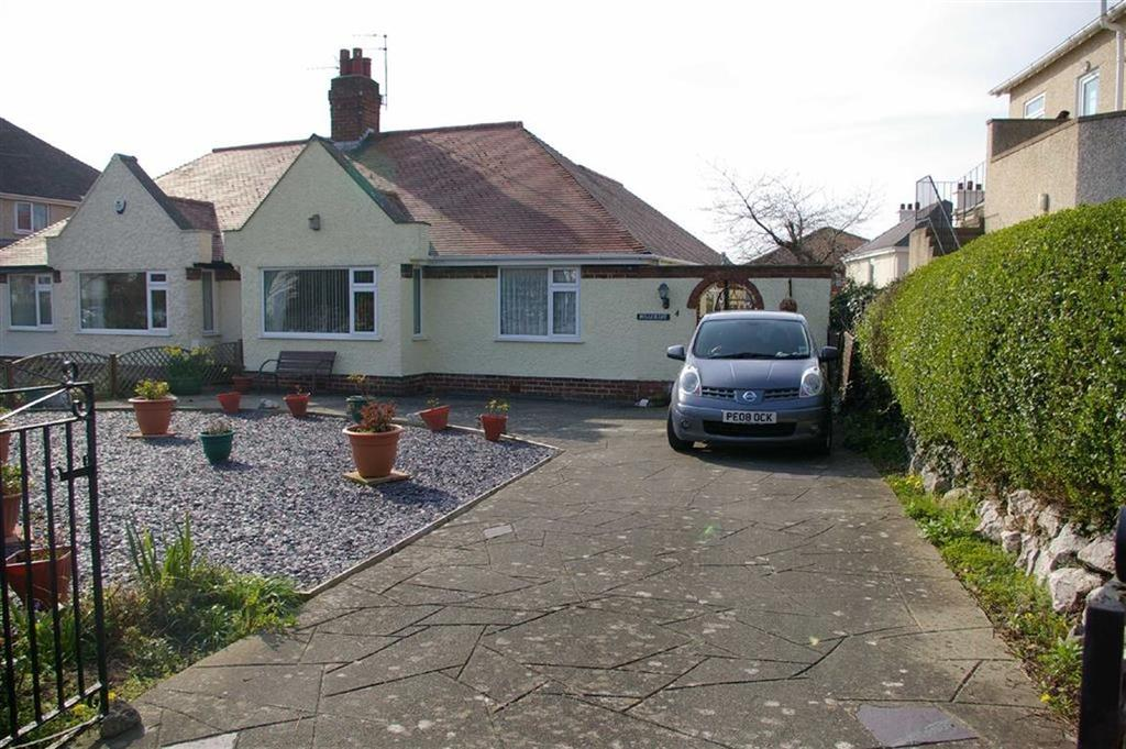 2 Bedrooms Semi Detached Bungalow for sale in Penrhyn Isaf Road, Penrhyn Bay, Llandudno