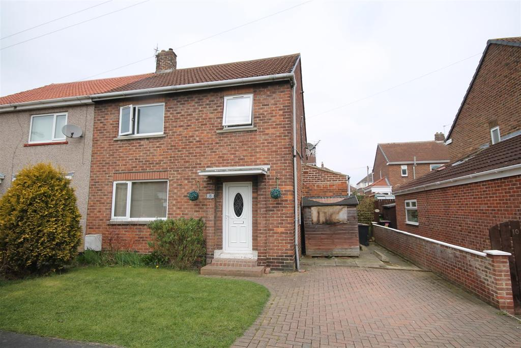 3 Bedrooms Semi Detached House for sale in Springfield Road, Fishburn, Stockton-On-Tees