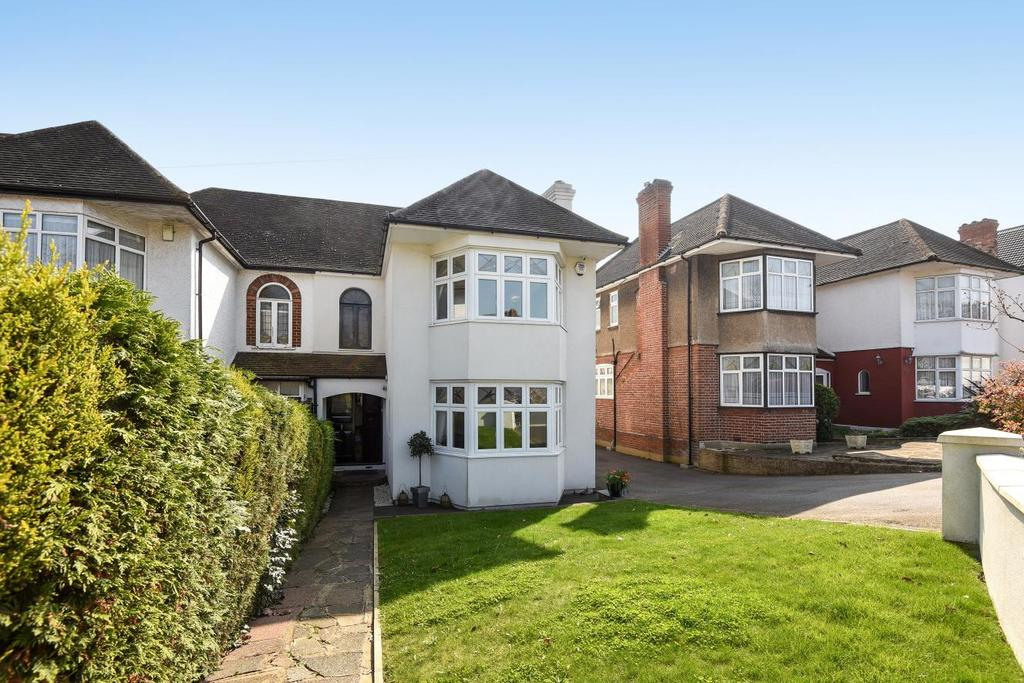 4 Bedrooms Semi Detached House for sale in Sheringham Avenue, Southgate