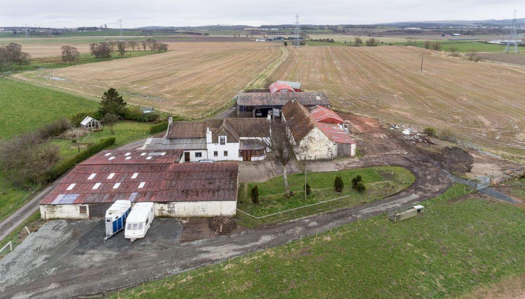 4 Bedrooms Detached House for sale in Coxpow Farm, Fallin, FK7 7LU
