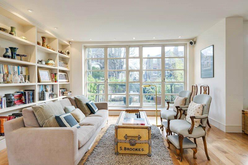 4 Bedrooms Maisonette Flat for sale in Prince Arthur Road, Hampstead, London, NW3
