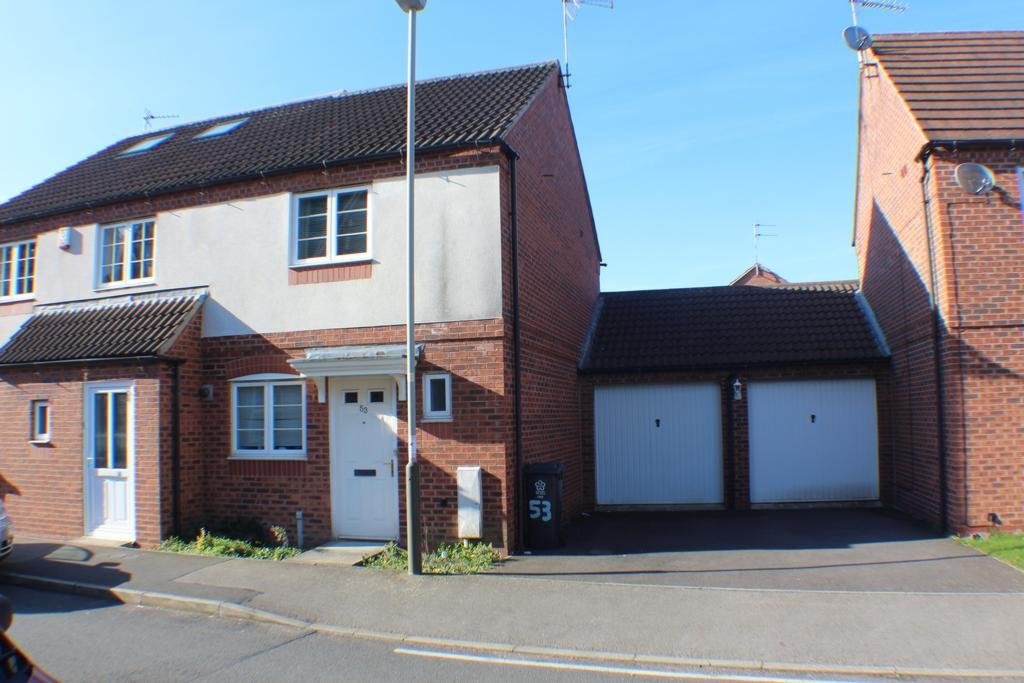 2 Bedrooms Semi Detached House for sale in Carty Road, Hamilton, LE5