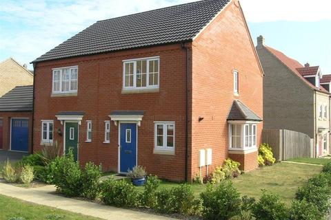 2 bedroom semi-detached house to rent - Longchamp Drive, Ely