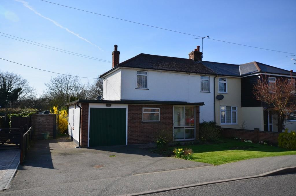 3 Bedrooms Semi Detached House for sale in Kelvedon Road, Wickham Bishops