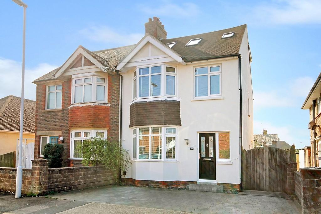 4 Bedrooms Semi Detached House for sale in Mardale Road, Worthing BN13 2AY
