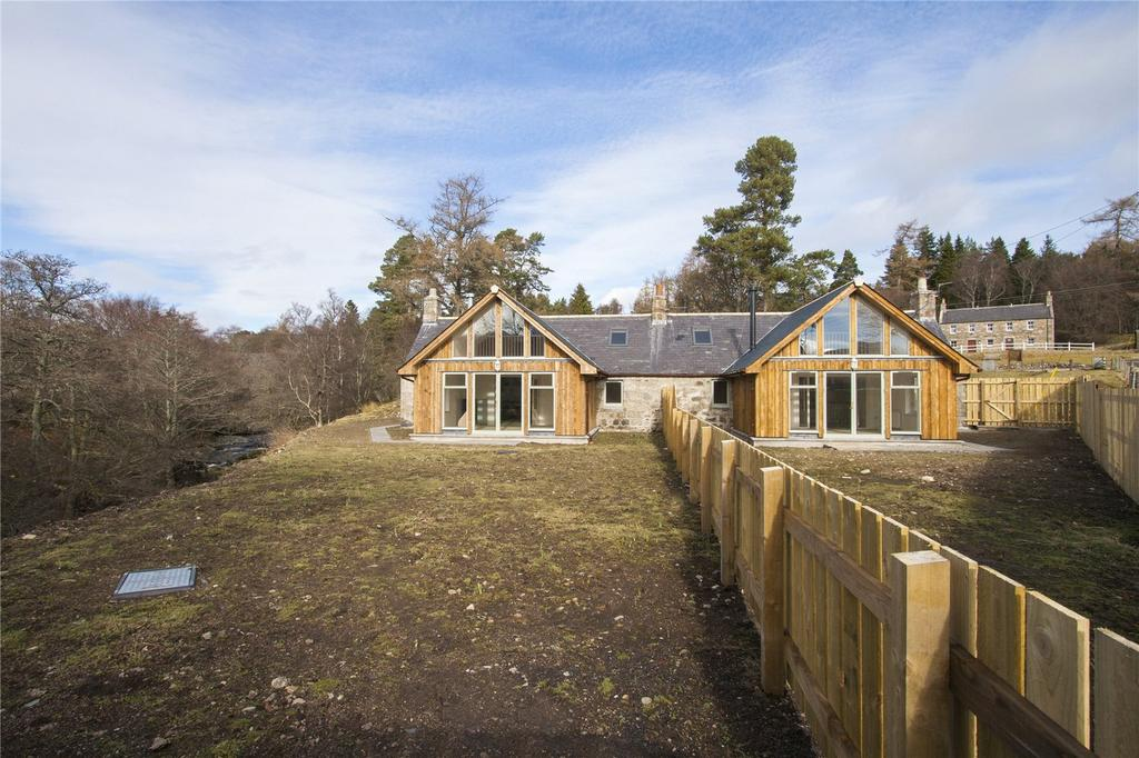 4 Bedrooms Semi Detached Bungalow for sale in 1 2 Tarfside Cottages, Glenesk, By Edzell, Angus, DD9