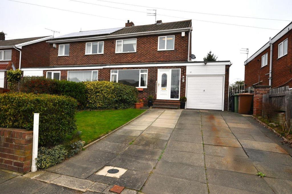 3 Bedrooms Semi Detached House for sale in Carlton Crescent, East Herrington, Sunderland