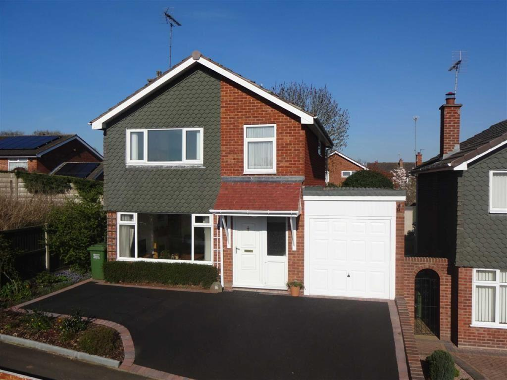 3 Bedrooms Detached House for sale in Lobelia Close, Kidderminster, Worcestershire