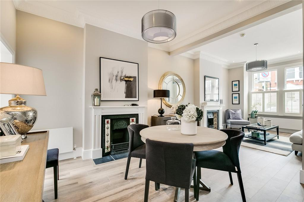 5 Bedrooms End Of Terrace House for sale in Hestercombe Avenue, Fulham, London