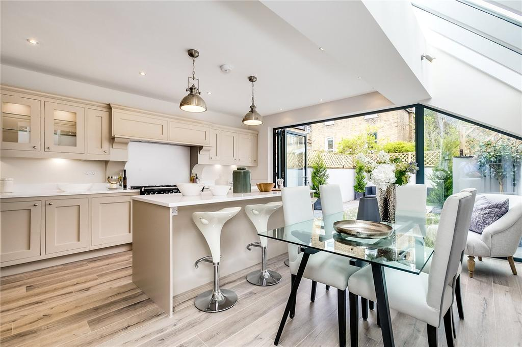5 Bedrooms End Of Terrace House for sale in Hestercombe Avenue, Parsons Green, London