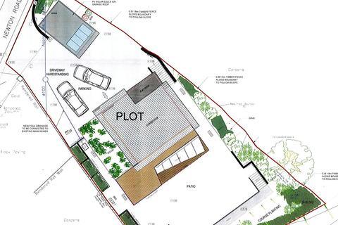 Land for sale - Plot N. E. Ty Pengraig, Newton Lane, Hazelbeach, Llanstadwell