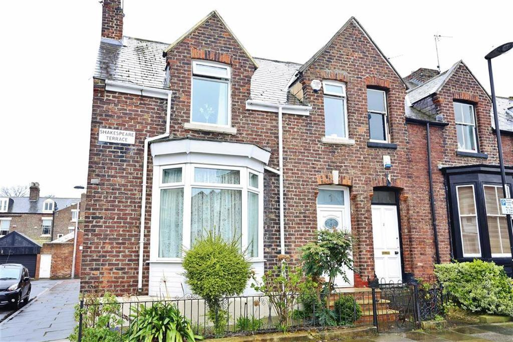 3 Bedrooms Terraced House for sale in Shakespeare Terrace, Thornhill, Sunderland, SR2