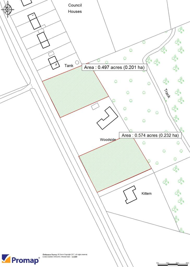 Land Commercial for sale in Carters Clay Road, Lockerley, Romsey, Hampshire, SO51