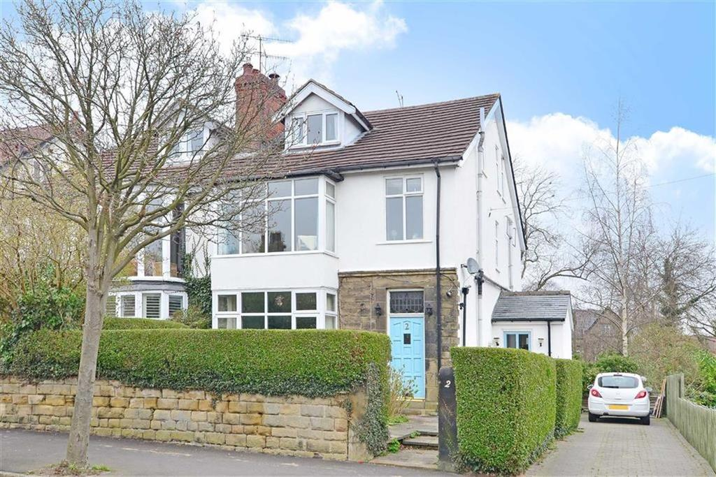 5 Bedrooms Semi Detached House for sale in 2, Bushey Wood Road, Dore, Sheffield, S17