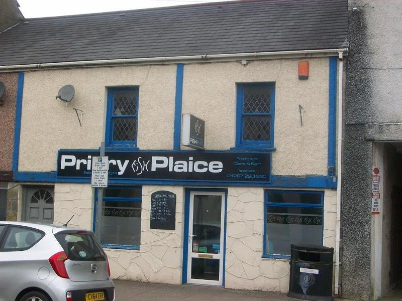 2 Bedrooms Detached House for sale in Chip Shop, 120 - 121 Priory Street, Carmarthen, Carmarthenshire.
