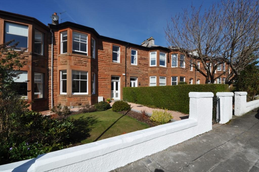 3 Bedrooms Terraced House for sale in 22 Glenville Avenue, Giffnock, G46 7AH