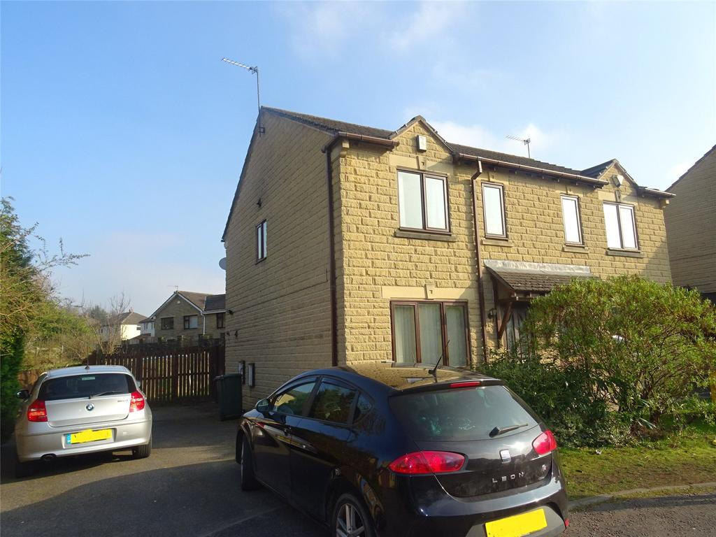 3 Bedrooms Semi Detached House for sale in Bracken Hill Drive, Bradford, West Yorkshire, BD7