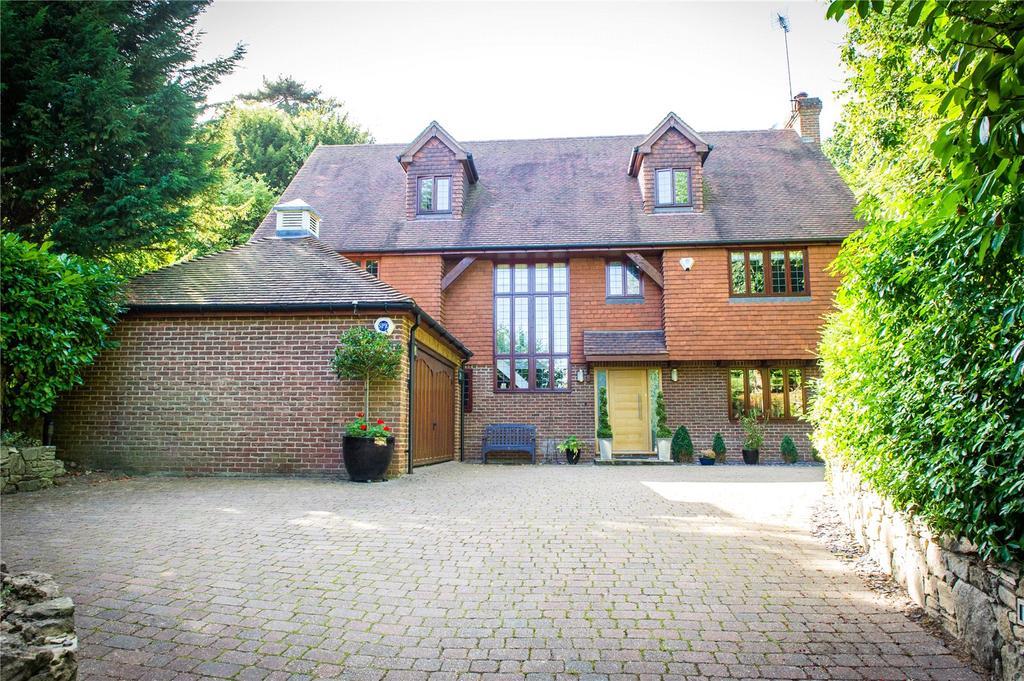5 Bedrooms Detached House for sale in Oakhill Road, Sevenoaks, Kent, TN13