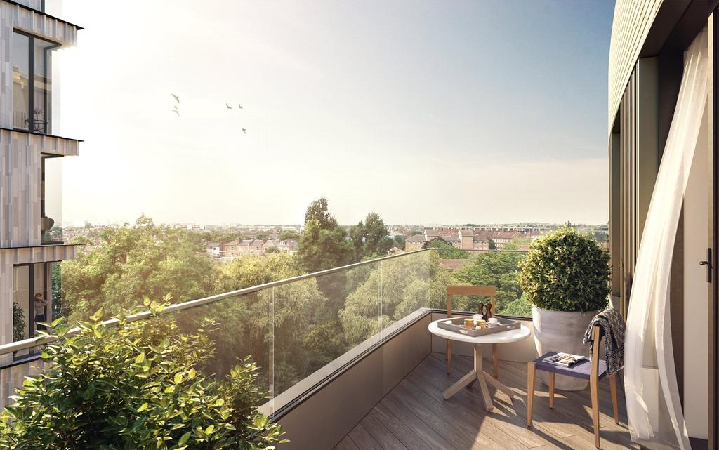 3 Bedrooms Flat for sale in Television Centre, 101 Wood Lane, London, W12