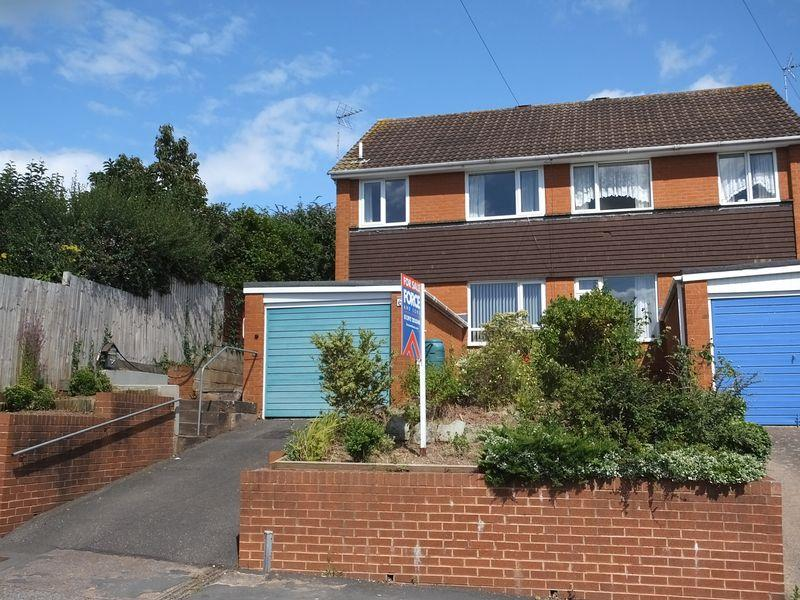 3 Bedrooms Semi Detached House for sale in Berkshire Drive, Exeter