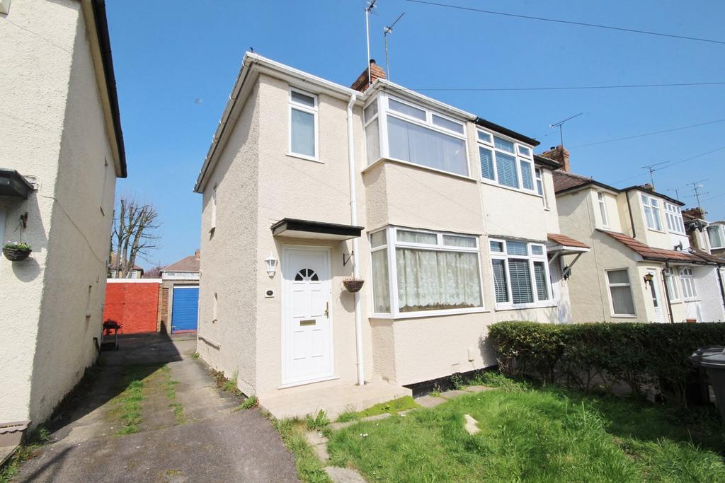 2 Bedrooms Semi Detached House for sale in Fourth Avenue, Sundon Park, Luton, LU3