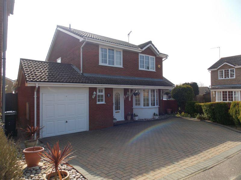 4 Bedrooms Detached House for sale in Thomas Close, Ixworth