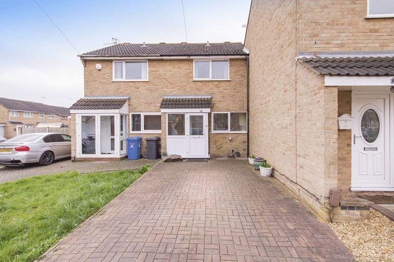 2 Bedrooms Terraced House for sale in UNDERHILL CLOSE, DERBY.
