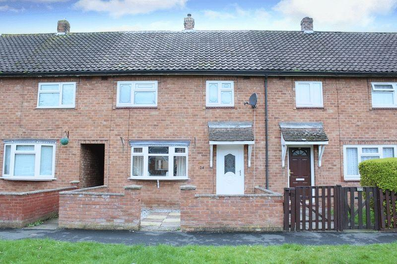 3 Bedrooms Terraced House for sale in Claverley Crescent, Sundorne, Shrewsbury, SY1 4QY