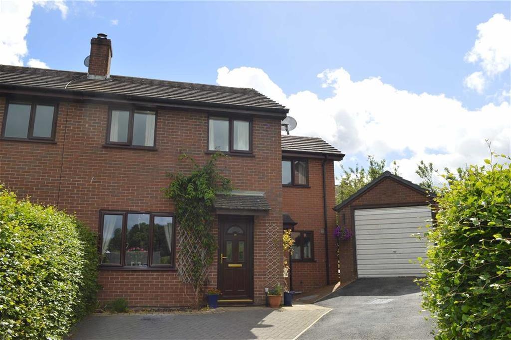 4 Bedrooms Semi Detached House for sale in 20, Ffordd Newydd, Bettws Cedewain, Newtown, Powys, SY16