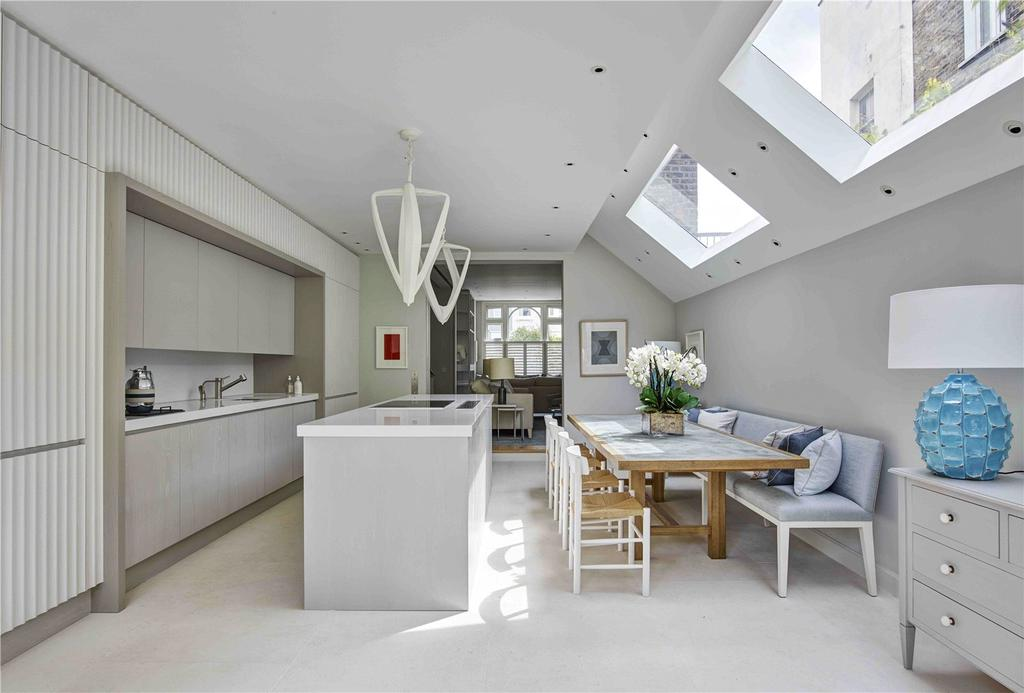 5 Bedrooms Terraced House for sale in Grimston Road, Hurlingham, Fulham, LONDON