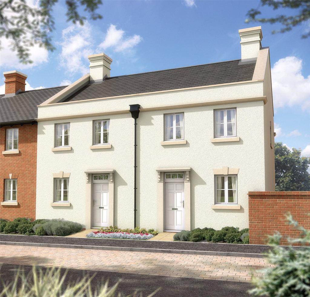 2 Bedrooms End Of Terrace House for sale in The Brandon, 11 Kings Drive, Winchester Village, Hampshire, SO22