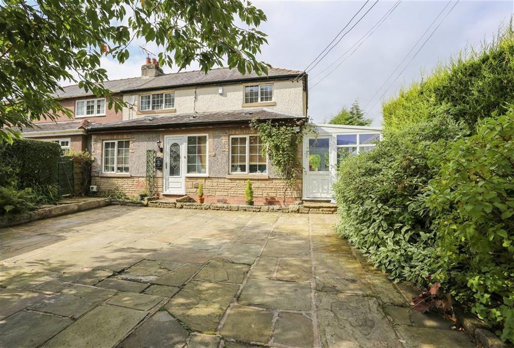 2 Bedrooms Semi Detached House for sale in Glossop Road, Marple Bridge, Cheshire